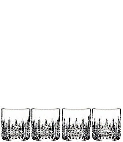 Waterford Lismore Connoisseur Diamond Crystal Straight Sided Tumbler, Set of 4