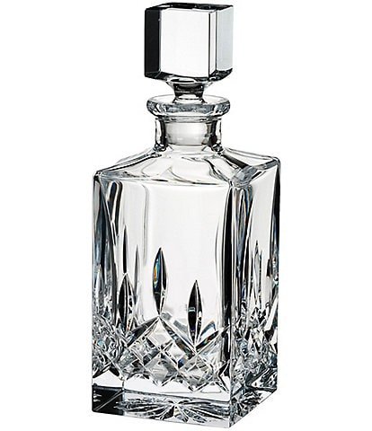 Waterford Lismore Crystal Square Decanter