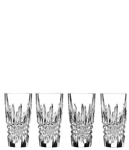Waterford Lismore Diamond Crystal Shot Glasses, Set of 4