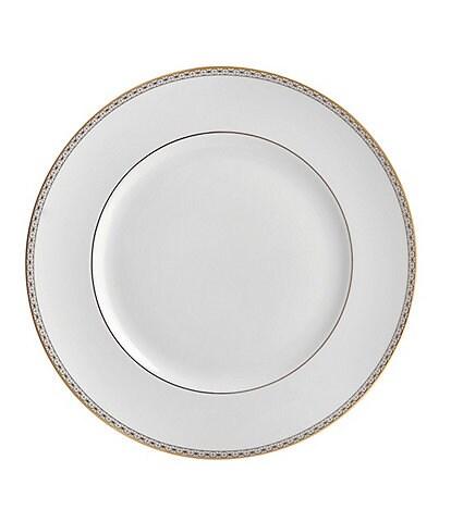 Waterford Lismore Diamond Gold Dinner Plate