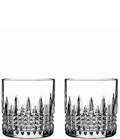 Waterford Lismore Diamond Crystal 7 oz. Straight Sided Tumbler Pair