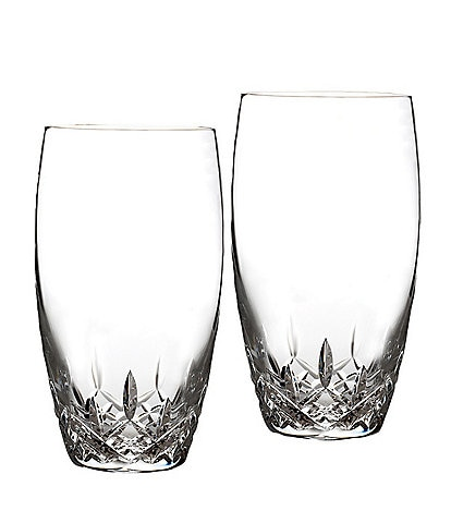 Waterford Lismore Essence Crystal Highball Glasses, Set of 2