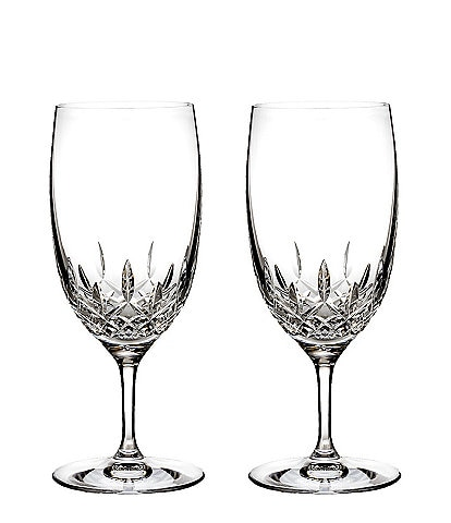Waterford Lismore Essence Crystal Iced Beverage, Set of 2