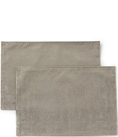 Waterford Holiday Lunar Jacquard Placemats, Set of 2
