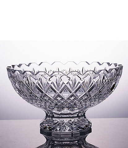 Waterford Rosalee Footed 10#double; Crystal Footed Bowl