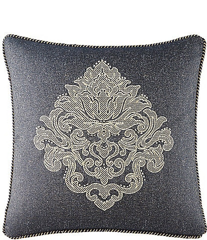 Waterford Vaughan Medallion Square Pillow