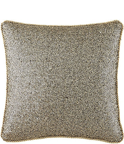 Waterford Vaughan Sequined Square Pillow