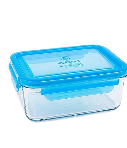 Wean Green 36 oz Tempered Glass Meal Tub