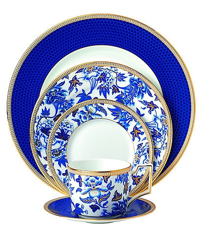 Wedgwod Hibiscus 5-Piece Place Setting