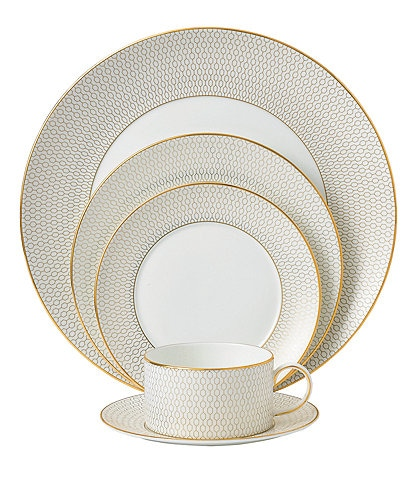Wedgwood Arris Geometric Bone China