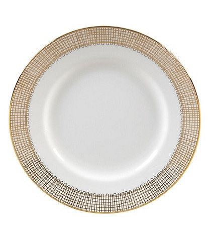 Wedgwood Gilded Weave Bead & Butter Plate