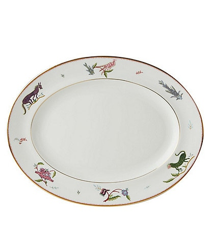Wedgwood Mythical Creatures Oval Platter 14#double;