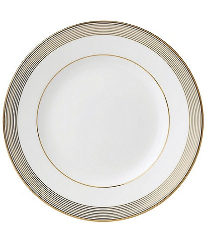 Wedgwood Vera Wang by Wedgwood Golden Grosgrain Salad Plate