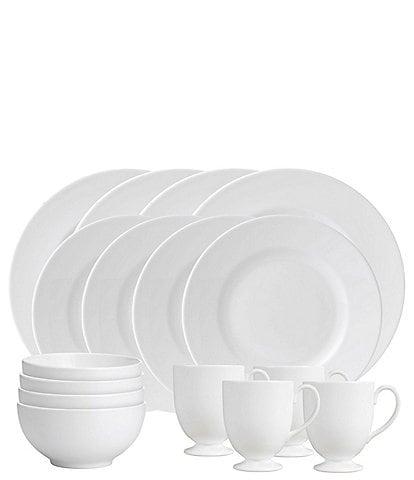 Wedgwood White 16-Piece Dinnerware Set