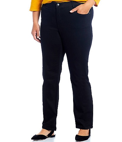 Westbound Denim Plus Size THE FIT FORMULA Slim Straight Jeans