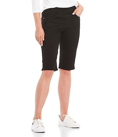 Westbound Petite Size the PARK AVE fit Denim Skimmer Shorts