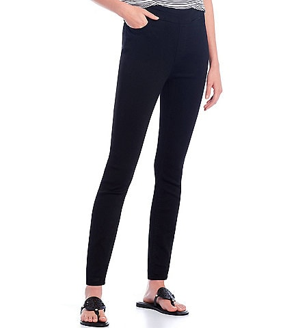 Westbound Petite Size High Rise fit Skinny Leg Pull-On Pants