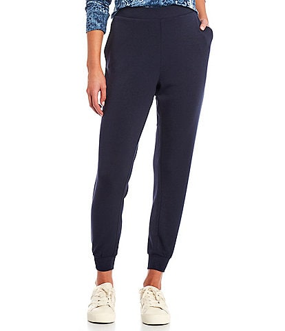 Westbound Petite Size Pull-On Soft Touch Coordinating Joggers