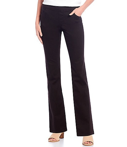Westbound Petite Size the PARK AVE fit Mid Rise Bootcut Pants