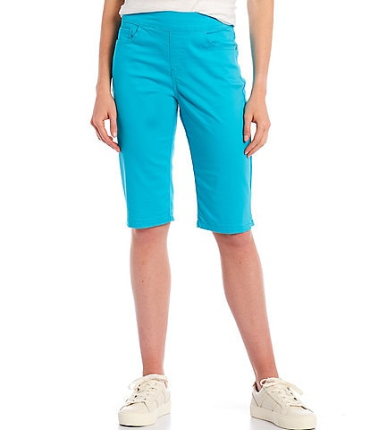Westbound Petite Size the PARK AVE fit Skimmer Shorts