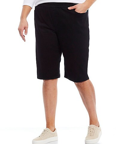 Westbound Plus Size the PARK AVE fit Denim Skimmer Shorts