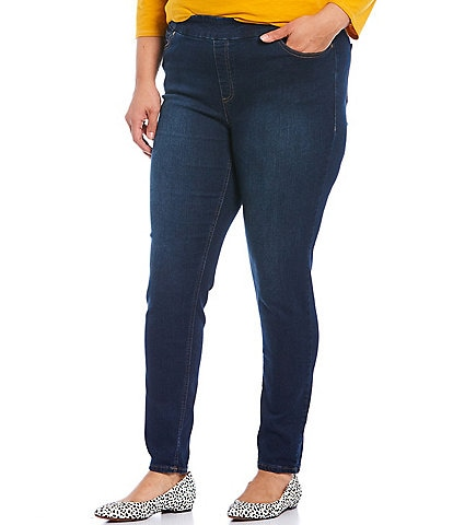 Westbound Plus Size High Rise Skinny Jeggings