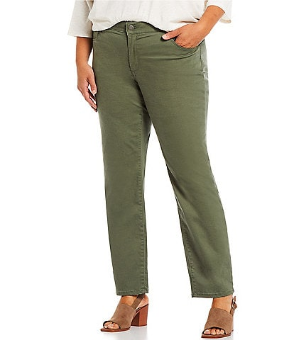Westbound Plus Size the FIT FORMULA Mid Rise Straight Leg Pants