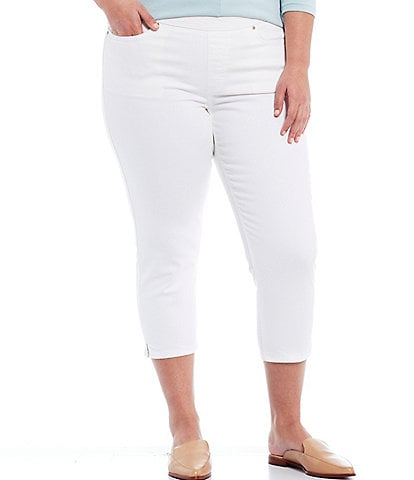 Westbound Plus Size the HIGH RISE fit Crop Pants