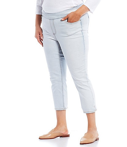 Westbound Plus Size the HIGH RISE fit Denim Skinny Cropped Pants