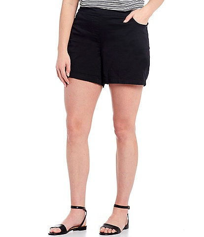Westbound Plus Size the PARK AVE fit Flat Front Shorts