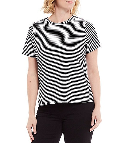 Westbound Short Sleeve Striped Essential Tee