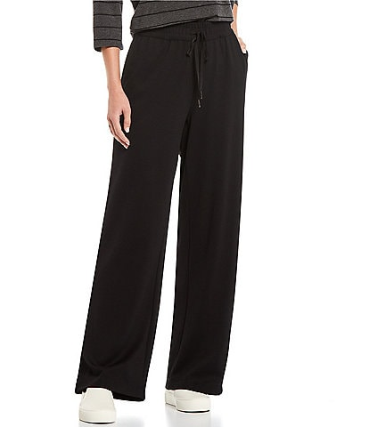 Westbound the ANYWHERE Mid Rise Knit Pique Drawstring Pants