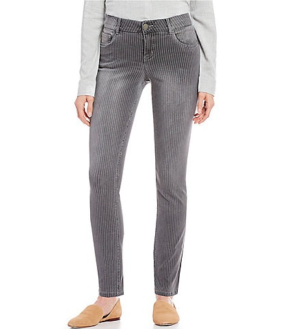 Westbound THE FIT FORMULA Pinstripe Slim Straight Pants