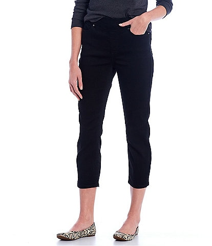 Westbound the HIGH RISE Fit Black Crop Pants