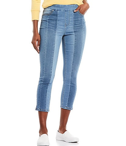 Westbound the HIGH RISE fit Color Block Cropped Pants