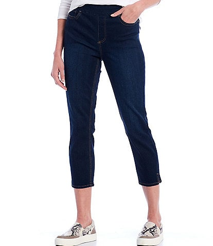 Westbound the HIGH RISE fit Denim Cropped Pants