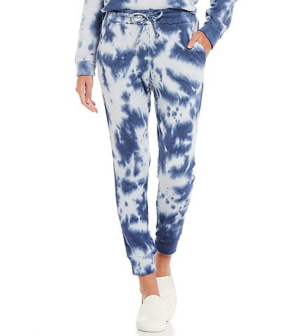 Westbound Tie Dye Weekend Pull-On Coordinating Joggers