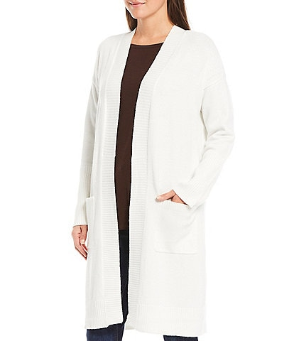 Westbound Two Pocket Open Front Long Cardigan