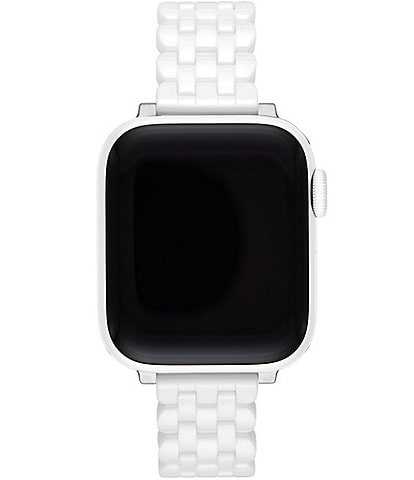 White Ceramic 38/40mm Apple Watch® Bracelet Band