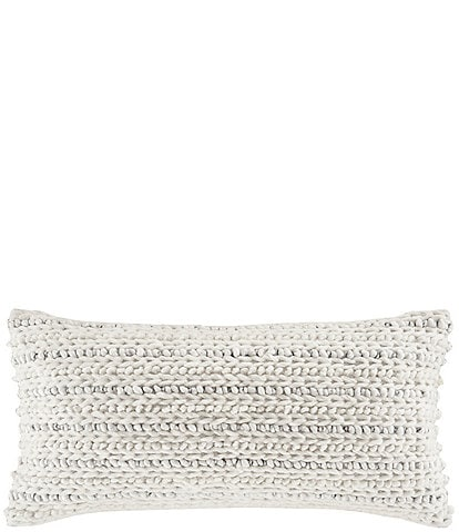 White Sand Haven Lumbar Throw Pillow