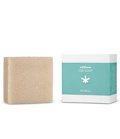 Wildflower CBD+ Soap - Vanilla