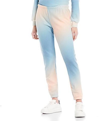 WILDFOX Knox Tie-Dye Ankle Pants
