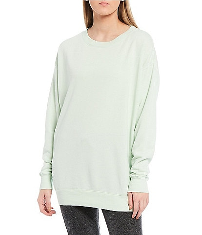 WILDFOX Roadtrip Crew Neck French Terry Sweater