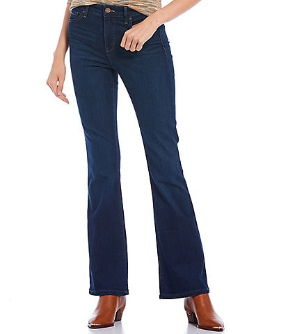 William Rast High-Rise Flared Hem Jeans