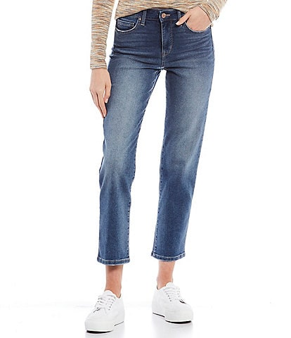 William Rast High Rise Straight Jeans