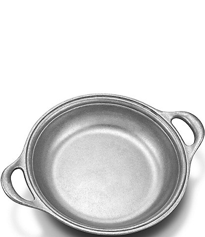 Wilton Armetale Gourmet Grillware Small Au Gratin Grilling and Serving Pan with Handles
