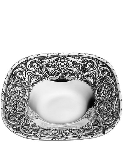 Wilton Armetale William And Mary Large Square Bowl