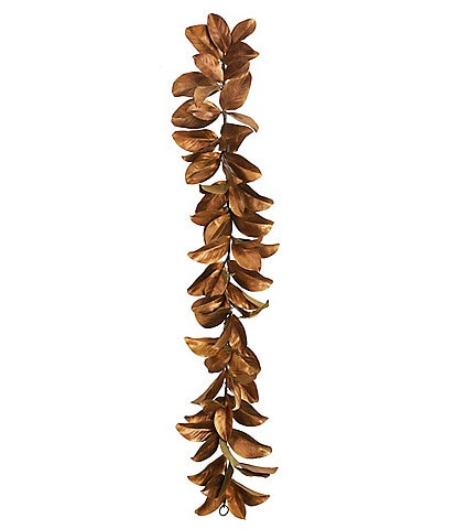 Winward Holiday Collection Permanent Botanicals Gold Leaf Magnolia 60#double; Garland
