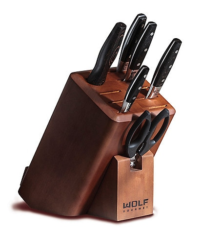 Wolf Gourmet 7-Piece Knife Block Set