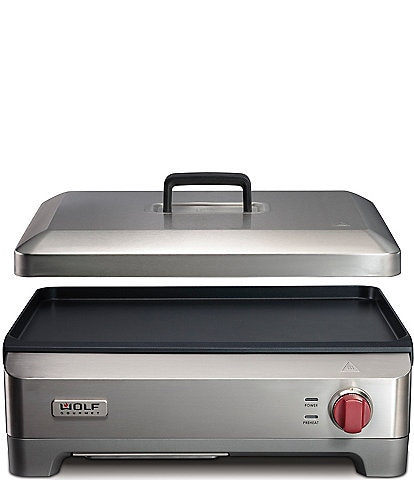 Wolf Gourmet Electric Griddle with Red Knob
